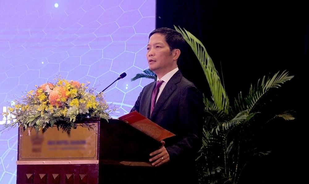 Ông Trần Tuấn Anh - Ủy viên Bộ Chính trị, Trưởng Ban Kinh tế Trung ương phát biểu chỉ đạo hội thảo.
